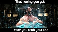 That feeling you get when....