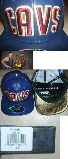 Hats and Headwear 158968: $100 Cleveland Cavaliers Leather Hat Cavs Nba Jersey-Clr Lebron Kyrie M L Xl Xxl BUY IT NOW ONLY: $59.23
