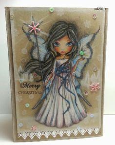 Sketching Stamper: Paperbabe Stamps Decemeber Release - MayLeeDee Winter Fairy