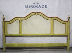 2231-01891 #Customizable French King #Headboard by #MegMade,  View more on the LINK: http://www.zeppy.io/product/gb/3/272868224/
