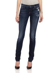 7 For All Mankind Women's Roxanne Slim Fit Jean in Classic Vintage Blue Price:	$188.99 & FREE Shipping. 98% Cotton/2% Spandex Machine Wash Slightly longer inseam for stacked look Zip fly Natural rise 11.25 pounds denim Made in USA