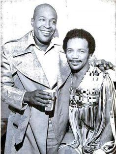 Marvin Gaye and Quincy Jones