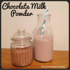 """I'm currently working on a few different """"mixes"""" for Christmas hampers, things people only need to add water or milk to to create a dessert, drink, cake, puddin Chocolate Milk Powder, Hot Chocolate Mix, Thermal Cooking, Buy Milk, Presents For Teachers, Christmas Hamper, Banana Milkshake, Powdered Milk, Vegetarian Chocolate"""