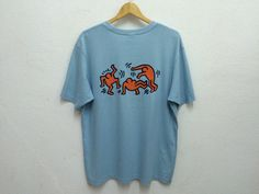 Pop Art Keith Haring Haring Estate Dance T-Shirt Sz by ZCaballero