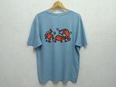 Pop Art Keith Haring Haring Estate Dance T-Shirt Sz by ZCaballero