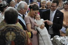 Princess Estelle and her family