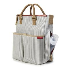 I LOVE this. I'm obsessed with diaper bags. I have a problem.