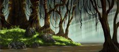 Swamp Backdrop