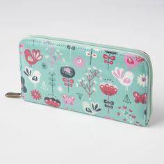 Blue Scandi Birds Wallet | Gifts £10 - £20 | Sass & Belle