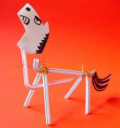 the Unruly horse Steam Online, Toys From Trash, Origami Art, Rubber Bands, Wind Turbine, Crafts For Kids, Symbols, How To Make, Dragon