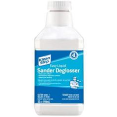 Amazing!! How did I not know about this before. You don't have to sand anything by hand anymore. Easy Liquid Sander, for $6 at Home Depot!