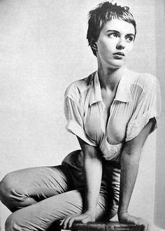 jean seberg- pixie cut......have been doing this cut Forever.....who knew.....