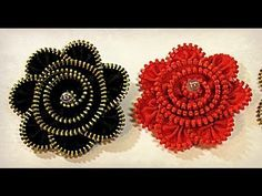 Tutorial: Plastic flowers. Flores de plástico. - YouTube