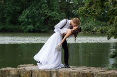 Svatební šaty a kytice  Klárka + Ondra - Couple Memory Memories, Couples, Wedding Dresses, Fashion, Memoirs, Bride Dresses, Moda, Souvenirs, Bridal Gowns