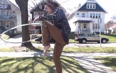 Let's Learn the Magic Knee Flip with Sonora Larsen: http://www.hooping.org/2014/05/lets-learn-the-magic-knee-flip-with-sonora-larsen/