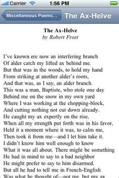 accidentally on purpose robert frost