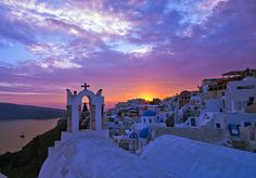 Sunset in Oia, Santorini by ten14dotnet, via Flickr