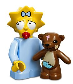 Maggie Simpson>I was fortunate to procure Maggie, being that she was in one of the two packets I found tossed on the end cap at the store.