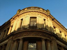 @South Wales Argus PIC OF THE DAY 27.01.14: Late afternoon sun shines on ornate Newport city centre building Pic: MARK LEWIS