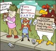 Cartoon University - CollegeHumor Post