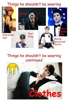 Things EXO's Sehun Shouldn't Be Wearing :D