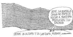 "La muralla china se parece a la ""revolución ciudadana"" - Chamorro (La Hora)"