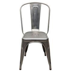 Tolix tuoli A, käsittelemätön/matta – Tolix – Osta kalusteita verkossa osoitteessa ROOM21.fi