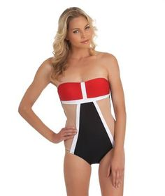 I love the '2014 LUXE by Lisa Vogel Mrs. Bond One Piece Swimsuit'. Shop SwimSpot.com