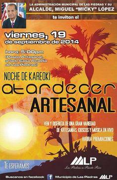 Atardecer Artesanal @ Las Piedras #sondeaquipr #festivalespr #atardecerartesanal #laspiedras #paseoartesanal