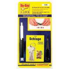 Prime-Line Products E 2402 Schlage Type C Re-Keying Kit, 5 Pin Prime-Line Products http://www.amazon.com/dp/B008RIDQD0/ref=cm_sw_r_pi_dp_yd4Cwb1M0WA6G