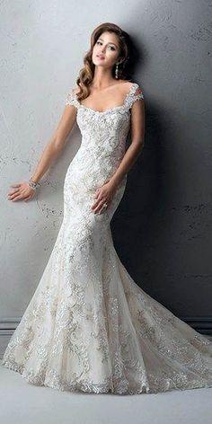 wedding dress by sottero mermaid 6