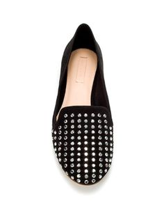 STUDDED SLIPPER - ZARA. I saw this in the store and didn't buy it, I regret it so bad :(