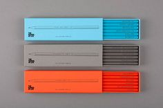 THE SCHOOL OF LIFE, EMBOSSED PENCILS: designed by alain de botton and morgwn rimel.