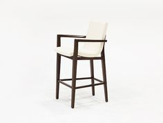 HOLLY HUNT Siren barstool with arms