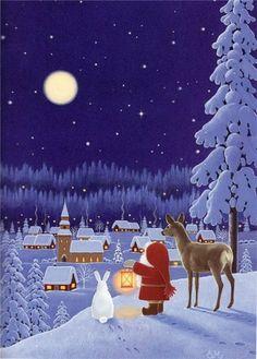 Pinzellades al món: Una història del Pare Noel / Una historia del Papá Noel / A story of Santa Claus
