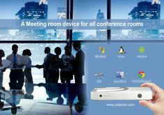 A Meeting room Device for all conference room, All-In-One conference room. #OS #Airplay #apple #laptop #pc #projector #conference #meeting #conferencerooms #wireless #screensharing #screenmirroring #coolgadget #gadget #iOS #iPad #cablefree #BYOD more info:www.prijector.com