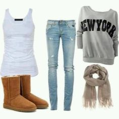 Hot Winter Fashion Ideas: Are you looking for some winter outfits for young school and college going girls? You would love reading this because Outfit Trends bring you some super cool winter fashion ideas for teens. Look Fashion, Teen Fashion, Fashion Women, Fashion Outfits, Fashion Trends, Fashion Ideas, Fall Fashion, School Fashion, Fashion Clothes