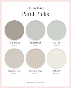 A lovely living top paint colors Indoor Paint Colors, Interior Paint Colors, Paint Colors For Living Room, Paint Colors For Home, Room Paint, House Colors, Beige Paint Colors, Gray Color, Gray Beige Paint
