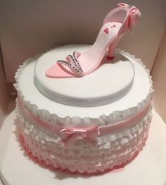 Another great shoe cake!
