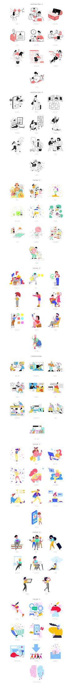 Download 80 free illustrations Character Flat Design, Line Illustration, Free Illustrations, Free Design, Artwork, Ninja, Illustrator, Manual, Sticker