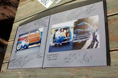 A Photo Guest Book on http://itsabrideslife.com