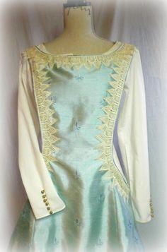 Renaissance Dress Costume Custom Made Overdress SCA LARP Maiden
