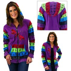 Dragonfly Dreams Hooded Jacket at The Breast Cancer Site