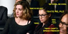"… and her fondness for french women. | Cosima Is The Best Clone On ""Orphan Black"" Because Science Says So"