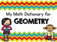My team and I have been teaching with a new math program for about 4 years. We love the unit on two-dimensional shapes and their attributes. However, there is sooooo much new vocabulary for our students. I created this quick and easy to use dictionary for students to keep in their math folders.
