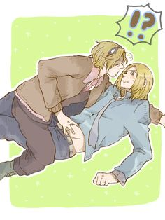 Have a thing for France? Where'd you get THAT idea? *laughs nervously*<<Don't be ashamed, France is freakin beautiful. Spamano, Usuk, Hetalia France, Its Ya Boy, Latin Hetalia, Canada, Cute Stories, Axis Powers, Anime Love