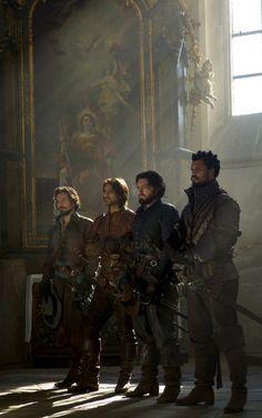 Howard Charles as Porthos in The Musketeers (BBC) The Musketeers Tv Series, Bbc Musketeers, The Three Musketeers, Howard Charles, Luke Pasqualino, Tom Burke, Fantasy, Period Dramas, Narnia