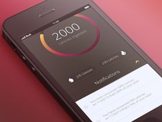 Notifications by John  ♖♜ - Mobile app interface UI UX