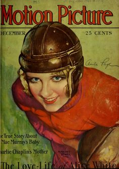Anita Page Motion Picture Magazine