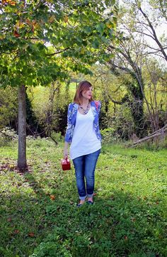 amemipiacecosi: Outfit: Una giacca floreale portata in maniera easy